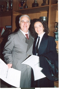 Con Alessandro Albertini